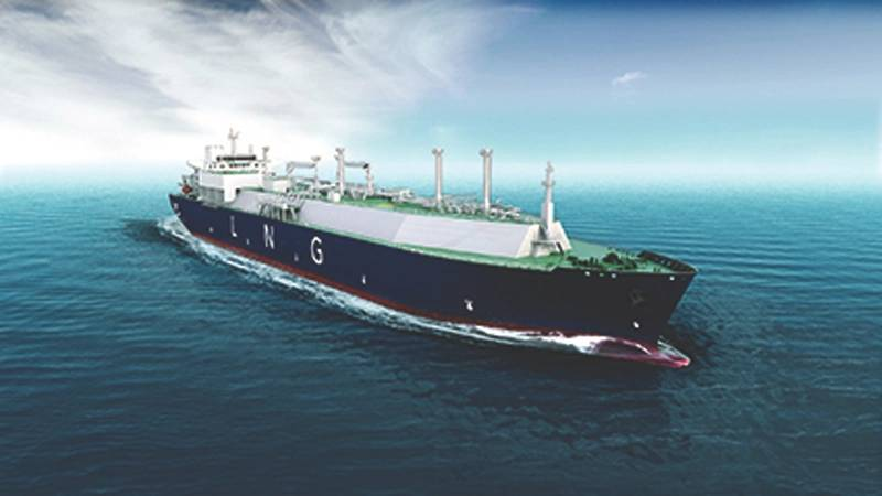 GTT's NO96 Max technology offers an optimized compromise between low boil-off and system strength for better thermomechanical efficiency: pictured is an LNG carrier equipped with the system. (Graphic: © GTT)