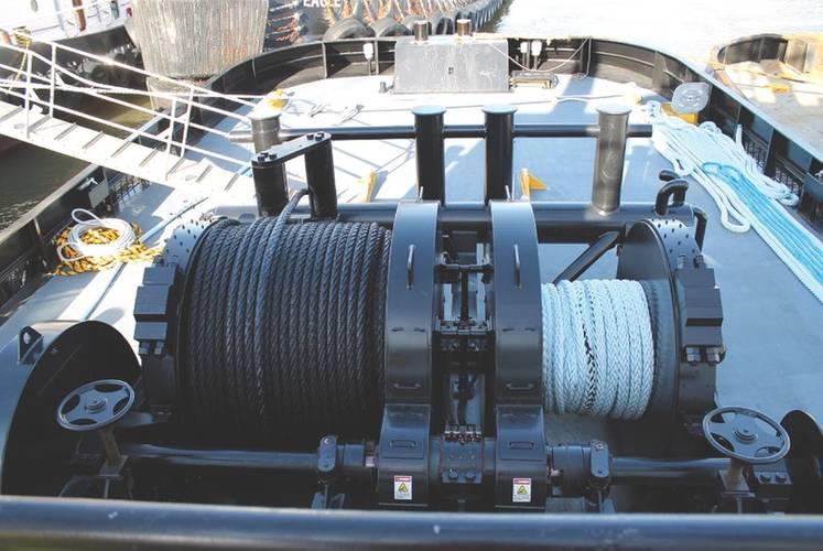 TESD-34B-100HP Towing Winch (Photo: Markey Machinery)