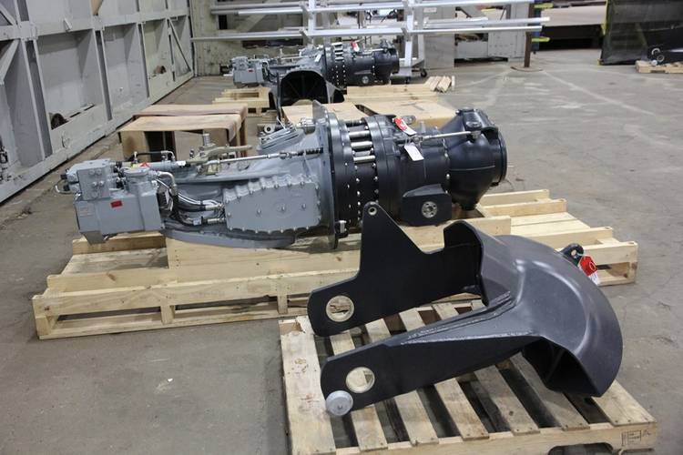 These CTVs are to be built with quad HM461 HamiltonJet waterjets. Photo: Senesco Marine.