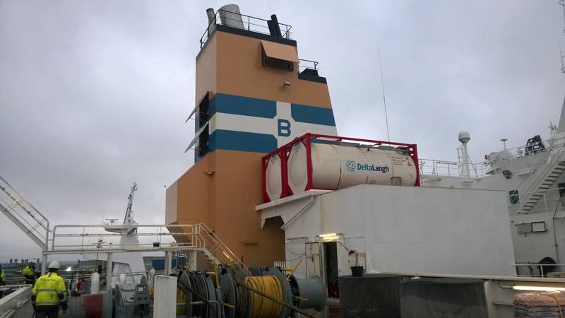 The system installation was done within a 14 days docking/off-hire period. (Photo: DeltaLangh)