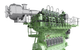 Rendering of the SCR-HP reactor with a host two-stroke engine  (Photo: MAN Energy Solutions)